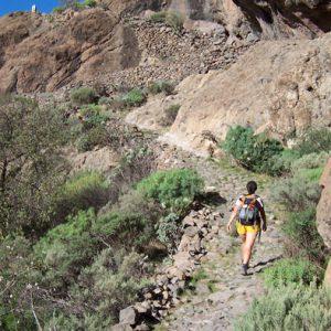 Gran Canaria Wandern Lanzatrekk Lanzarote