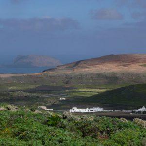 Lanzarote Wandern Monte Corona Vulkan Lanzatrekk